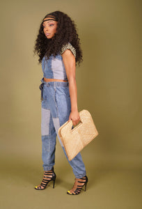 DENIM DAY- 2 PIECE JOGGER SET