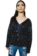 Load image into Gallery viewer, Disco Queen Sequins Top