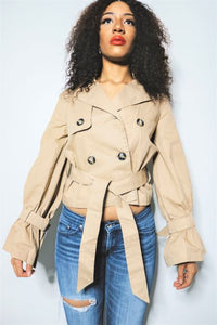 Trench Crop Jacket