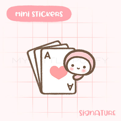 Card Game Planner Sticker