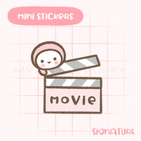 Movie Night Planner Sticker