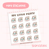 Spa Mask Planner Sticker