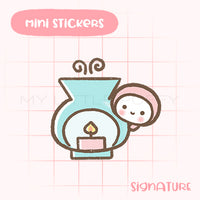 Aroma Candle Planner Sticker