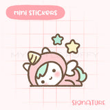 Unicorn Lazy Planner Sticker
