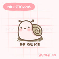 Snails Planner Sticker