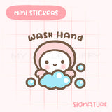 Wash Hands Planner Sticker