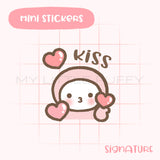 Flying Kiss Planner Sticker