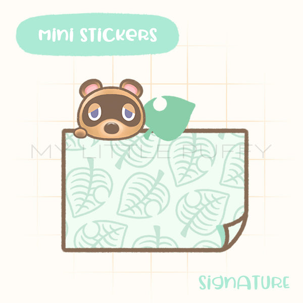 Animal Crossing Inspired Sticky Note Planner Sticker