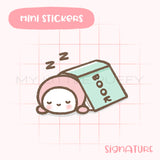 Cute Reading Planner Sticker