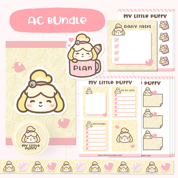 Animal Crossing- Isabelle- Inspired Planning Essential Bundle