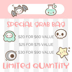 My Little Puffy Mystery Grab Bag Sticker Set Value 60