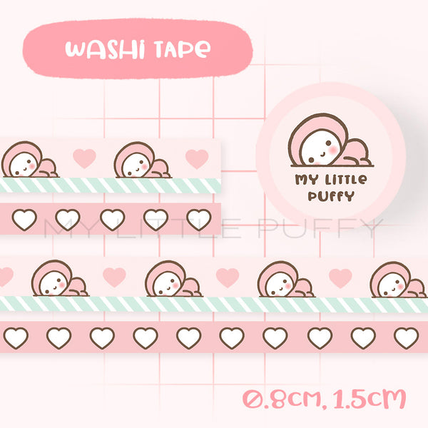 My Little Puffy Washi Tape Set