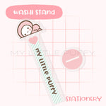 Cute Pink/ Mint My Little Puffy Washi Stand/Tower