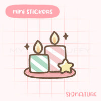 Candle Planner Sticker