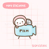 Filming Planner Sticker