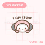 Puffy Stuck Planner Sticker