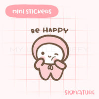 Be Happy Planner Sticker