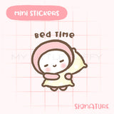 Bed Time Planner Sticker