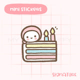 Birthday Cake Planner Sticker