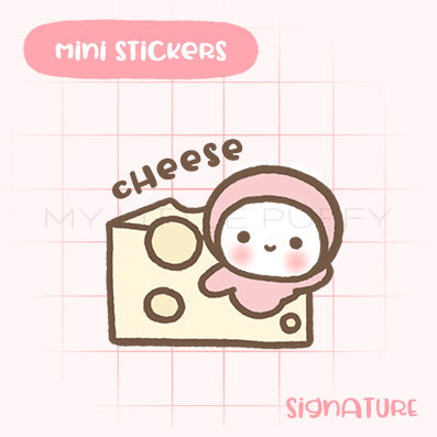 Cheese Planner Sticker