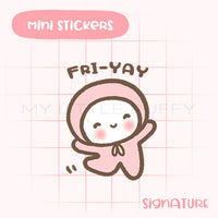 Fri-Yay Planner Sticker