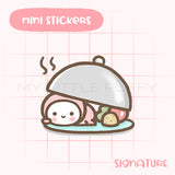Hot Meal Planner Sticker