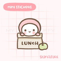 Lunch Planner Sticker
