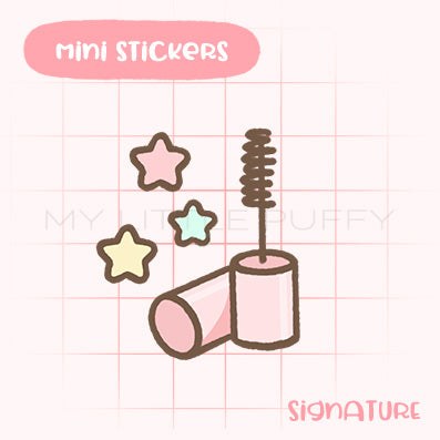 Mascara Planner Sticker