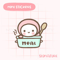 Meal Time Planner Sticker