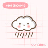 Rainy Weather Planner Sticker