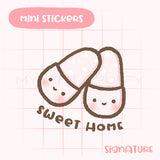 Cute Slippers Planner Sticker