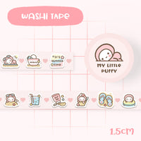 Cute Summer Time Washi Tape