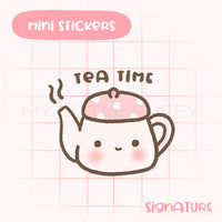 Tea Pot Planner Sticker
