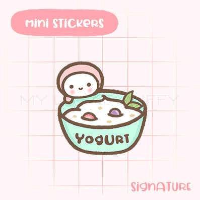 Yogurt Planner Sticker