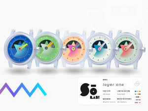 Layer 1 So Labs Funky Watches Sō Fun Quartz Automatic Timepiece Chicago