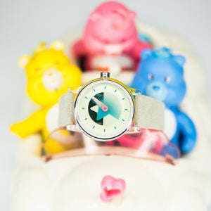 So Labs Layer 1.4 One Series Watch Watches Abalone Steel Care Bears