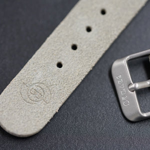 So Labs light suede custom strap 20mm quick release Edit