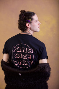 KING SIZE ONLY/キングサイズオンリー T-shirts  BLACK