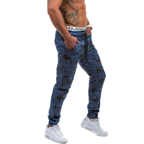 Mens High Quality Full Length Casual Jogger Pants - the-american-pandaa