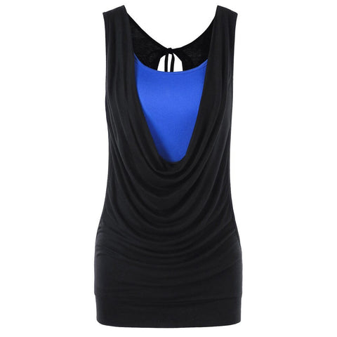 Women's  Fashion Strapless Sleeveless  Solid Tank Tops - the-american-pandaa