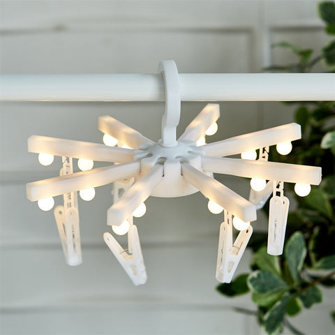 Battery Powered Round Hanger with LED Bulbs Mini Fairy Lights - the-american-pandaa