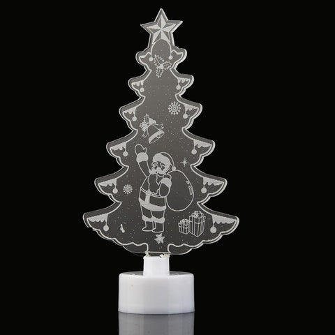 Creative Christmas Tree Santa Color Changing LED Light Decoration - the-american-pandaa