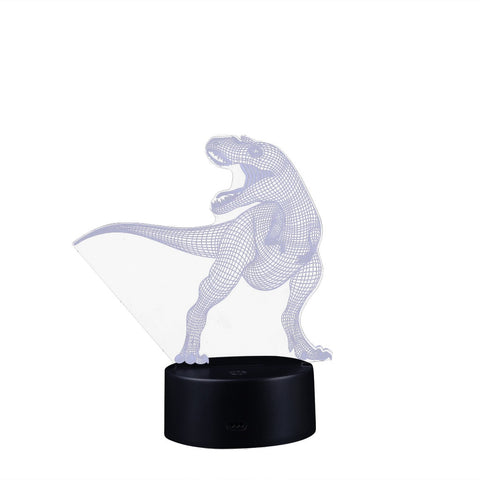 Rechargeable Battery Dinosaur Shape Night LED Light With Remote control Charger - the-american-pandaa