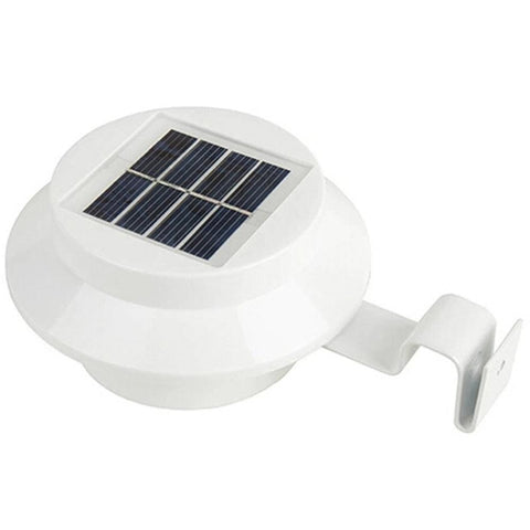Outdoor Solar Power Small 3 LED Wall Lamp - the-american-pandaa
