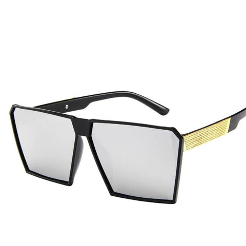 Women And Men Fashion Over-sized Square Shape Sunglasses - the-american-pandaa