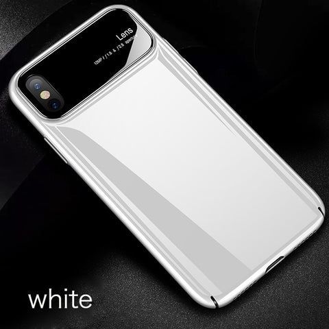 Frosted Ultra-thin Light Bumper Case For iPhones - the-american-pandaa