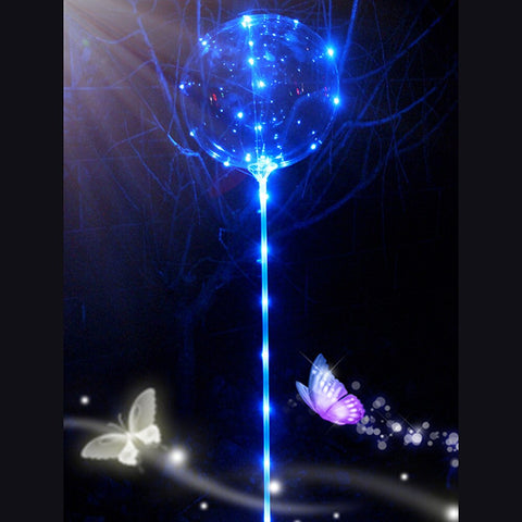 Transparent Luminous Led Bubble Balloon Home Decoration - the-american-pandaa