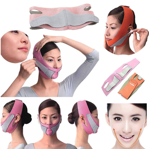 Thin Face Lift Mask Bandage Belt Kit - the-american-pandaa