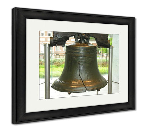 Framed Print, Philadelphiliberty Bell - the-american-pandaa