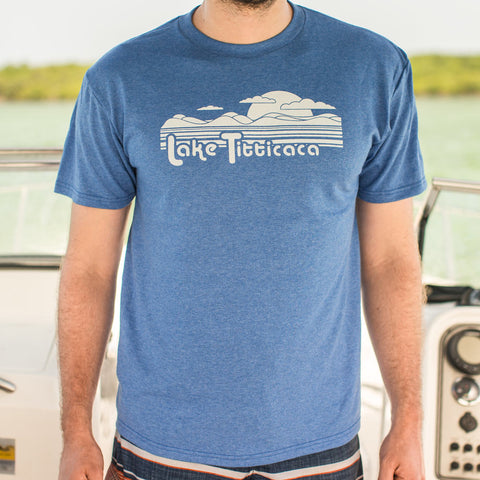 Lake Titticaca T-Shirt (Mens) - the-american-pandaa